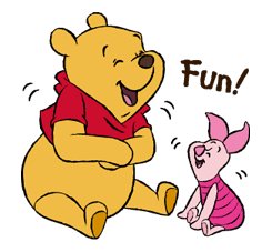 Pooh and Friends sticker #18038