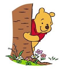 Pooh and Friends sticker #18039