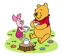 Pooh and Friends sticker #18042