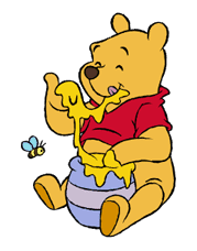 Pooh and Friends sticker #18044