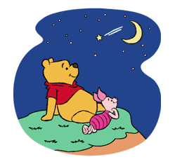 Pooh and Friends sticker #18046