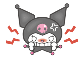 Kuromi sticker #18720