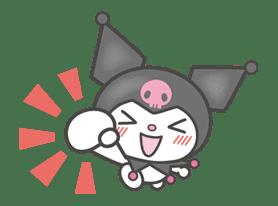 Kuromi sticker #18728