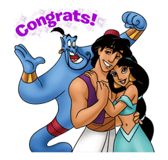 Aladdin sticker #20418