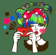HARAJUKU-GIRL(HIGH-QUALITY sticker vol1) sticker #10022792