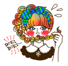 HARAJUKU-GIRL(HIGH-QUALITY sticker vol1) sticker #10022798