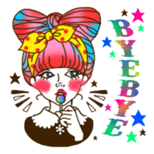 HARAJUKU-GIRL(HIGH-QUALITY sticker vol1) sticker #10022799