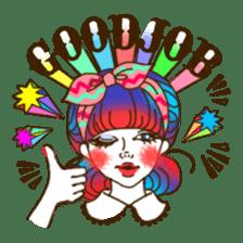 HARAJUKU-GIRL(HIGH-QUALITY sticker vol1) sticker #10022805