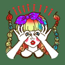 HARAJUKU-GIRL(HIGH-QUALITY sticker vol1) sticker #10022808