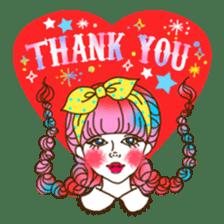 HARAJUKU-GIRL(HIGH-QUALITY sticker vol1) sticker #10022813
