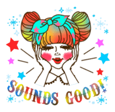HARAJUKU-GIRL(HIGH-QUALITY sticker vol1) sticker #10022815