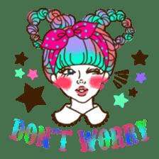 HARAJUKU-GIRL(HIGH-QUALITY sticker vol1) sticker #10022817