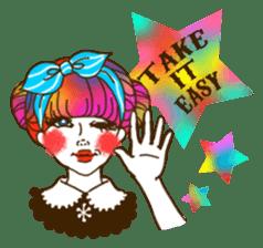 HARAJUKU-GIRL(HIGH-QUALITY sticker vol1) sticker #10022820