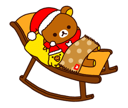 Rilakkuma Xmas & Holiday sticker #25098