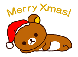 Rilakkuma Xmas & Holiday sticker #25100