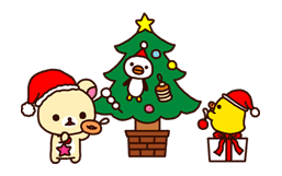 Rilakkuma Xmas & Holiday sticker #25103