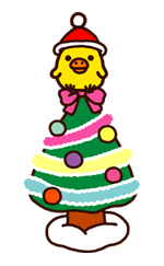 Rilakkuma Xmas & Holiday sticker #25105