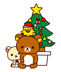 Rilakkuma Xmas & Holiday sticker #25110