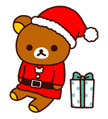 Rilakkuma Xmas & Holiday sticker #25112