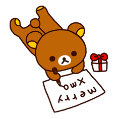 Rilakkuma Xmas & Holiday sticker #25113
