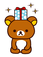 Rilakkuma Xmas & Holiday sticker #25115