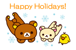 Rilakkuma Xmas & Holiday sticker #25117