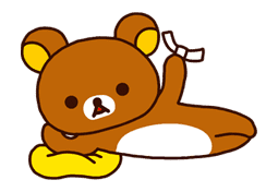 Rilakkuma Xmas & Holiday sticker #25136