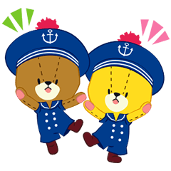 TINY TWIN BEARS:LULU & LOLO