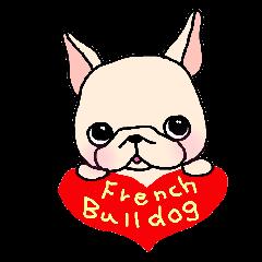 French Bulldog Stickers!