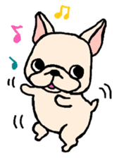 French Bulldog Stickers! sticker #235244