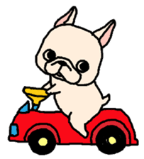 French Bulldog Stickers! sticker #235255