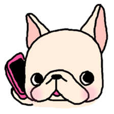 French Bulldog Stickers! sticker #235257