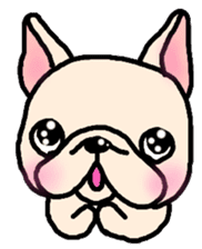 French Bulldog Stickers! sticker #235259