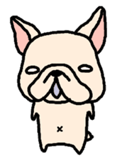 French Bulldog Stickers! sticker #235260