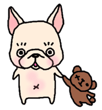 French Bulldog Stickers! sticker #235261