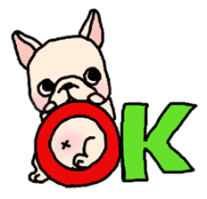 French Bulldog Stickers! sticker #235265