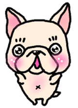 French Bulldog Stickers! sticker #235267