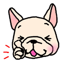 French Bulldog Stickers! sticker #235271
