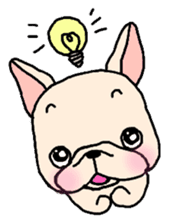 French Bulldog Stickers! sticker #235277
