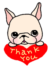 French Bulldog Stickers! sticker #235278