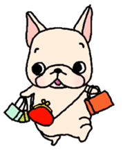 French Bulldog Stickers! sticker #235280