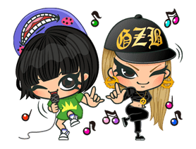 2NE1 Special Edition sticker #16747