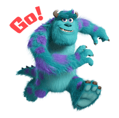 Monsters University sticker #17239