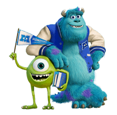 Monsters University sticker #17244