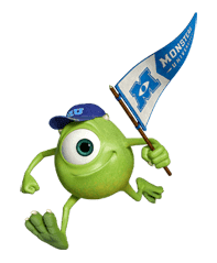 Monsters University sticker #17257