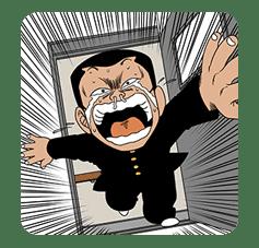 BE-BOP-HIGHSCHOOL sticker #35401