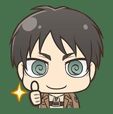 Attack on Titan Chimi-Chara Ver. sticker #46993