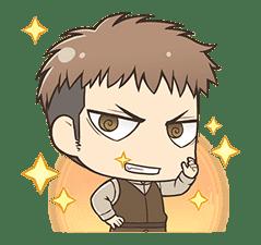 Attack on Titan Chimi-Chara Ver. sticker #46997