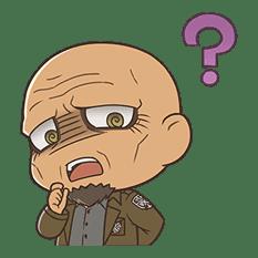Attack on Titan Chimi-Chara Ver. sticker #47011