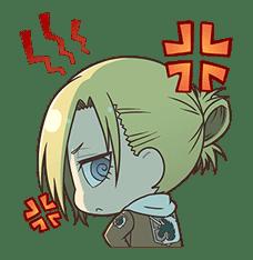 Attack on Titan Chimi-Chara Ver. sticker #47012